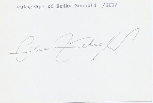 1968 Mexico City & 1972 Munich Gymnastics Five Olympic Medals ERIKA ZUCHOLD Autograph 1982