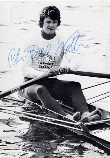 Rowing - Great Single Sculler PETER MICHAEL KOLBE Autographed Photo