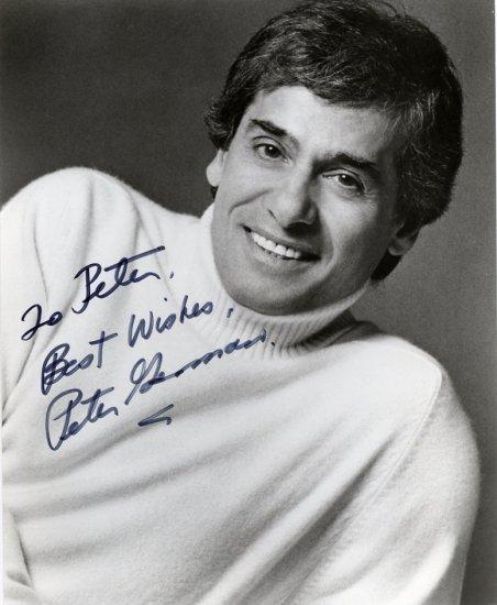 American Dancer & Choreographer PETER GENNARO Hand Signed Photo 8x10