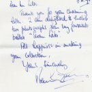 Ballerina Dame BERYL GREY Autograph Letter Signed 1995