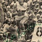 1972 Munich Athletics 400m & Relay Medalist RITA WILDEN Autograph 1970s