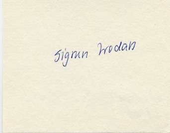 1988 Seoul Athletics 800m Gold SIGRUN WODARS Autograph 1988
