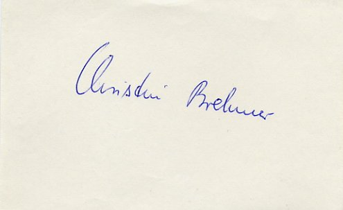 1976 Montreal Athletics 4x400 m Relay Gold CHRISTINA BREHMER Autograph 1980