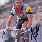 1st Estonian Professional Cyclist JAANUS KUUM Autographed Photo Card 1987