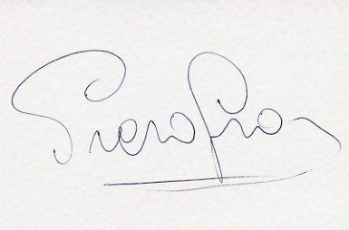 1976 Innsbruck Alpine Skiing Gold PIERO GROS Autographed Card