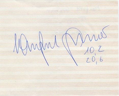 1956 Melbourne Athletics 4x100m Relay Bronze MANFRED GERMAR Autograph