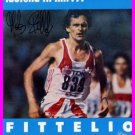1984 Los Angeles Athletics 5000m Silver MARKUS RYFFEL Autographed Photo Card