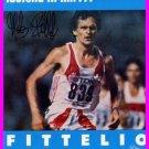 1984 Los Angeles Athletics 5000m Silver MARKUS RYFFEL Autographed Photo Card