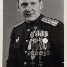 Soviet World War II Hero Colonel LUDVIG KURIST Autographed Photo