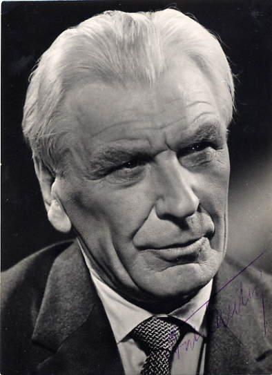 Estonian Actor & Director ANTS LAUTER Autographed Photo 1968