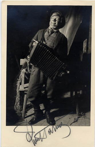 Estonian Actor & Director RUUT TARMO Vintage Autographed Photo