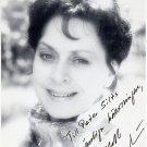 Swedish Soprano ELISABETH SODERSTROM Hand Signed Photo 4x6