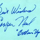1960 Broadway Bottoms Up for Swingers COOPER NEAL Autograph 1972