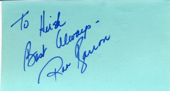 1960 Broadway Bottoms Up for Swingers ROB BARRON Autograph 1972