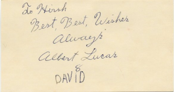 Ice Capades Juggling Stars ALBERT LUCAS & DAVID Autographs 1970s