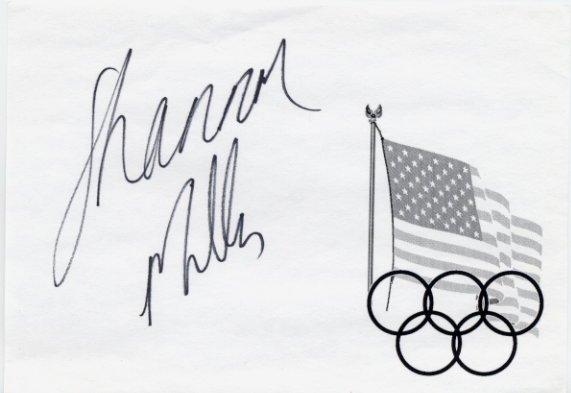 1992 Barcelona & 1996 Atlanta Gymnastics 7 Medals SHANNON MILLER Autograph 1994