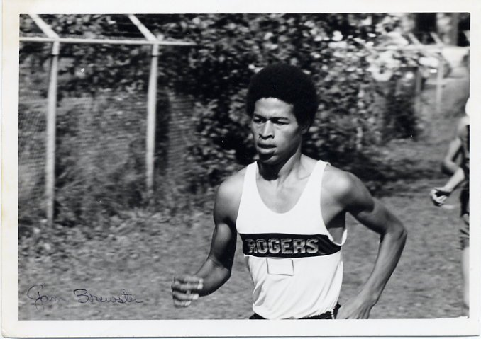 1970s Rogers - Puyallup Track Star JIM BREWSTER Signed Photo 5x7 1972
