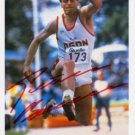1984 Los Angeles Triple Jump Olympian PETER BOUSCHEN Hand Signed Photo