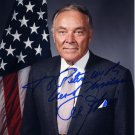 Secretary of State w/ Reagan ALEXANDER HAIG Hand Signed Photo 8x10