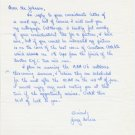 Duke University - 1960s Track Distance Star JERRY NOURSE Autograph Letter Signed 1962