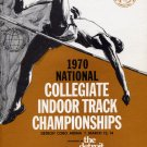 Multiple Signed 1970 NCAA Indoor Track Championships Program