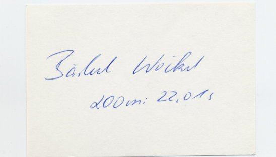 1976 Montreal & 1980 Moscow 200m & 4x100m Relay Gold BARBEL WOCKEL  Autograph '80