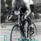 1980 Moscow Cycling Silver BERND DROGAN Autographed Photo 1982