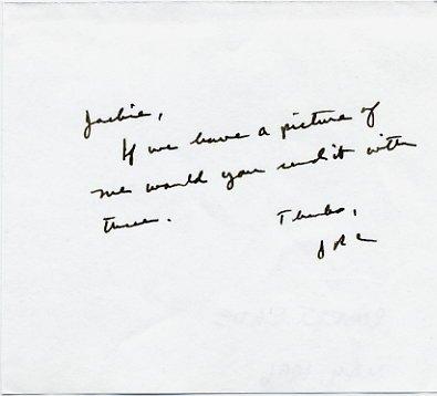 Inventor of Gatorade Dr. ROBERT CADE Autograph Note Signed 1996
