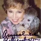 German Soprano ANNELIESE ROTHENBERGER Hand Signed Photo 4x6