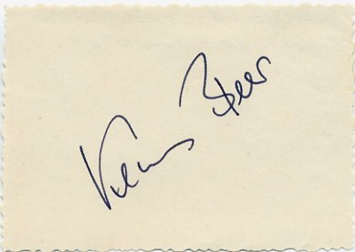 1968 Mexico City Athletics Long Jump Silver KLAUS BEER  Autograph 1970s