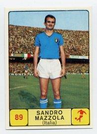1968 Panini Campioni Dello Sport - #89 SANDRO MAZZOLA