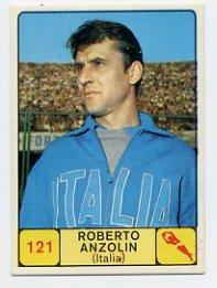 1968 Panini Campioni Dello Sport - #121 ROBERTO ANZOLIN