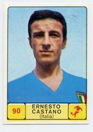 1968 Panini Campioni Dello Sport - #90 ERNESTO CASTANO