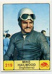 1968 Panini Campioni Dello Sport - #219 MIKE HAILWOOD