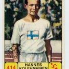 1968 Panini Campioni Dello Sport - #414 HANNES KOLEHMAINEN - Marathon