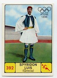1968 Panini Campioni Dello Sport - #392 SPYRIDON LOUIS - Marathon