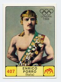 1968 Panini Campioni Dello Sport - #407 ENRICO PORRO - Wrestling