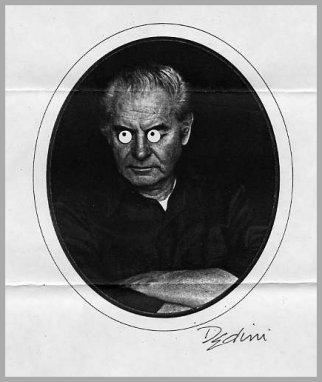 American Cartoonist ELDON DEDINI Hand Signed Print