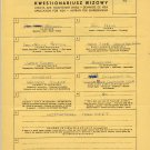 1964 Tokyo Decathlon Olympian PAUL HERMAN Handwritten Application for Visa 1961 #2