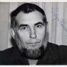 Estonian Composer VELJO TORMIS Hand Signed Photo 5x7 from 1970s