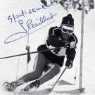 1960 Squaw Valley & 1968 Grenoble Alpine Skiing GUY PERILLAT Signed Photo