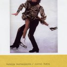 1988 Calgary Ice Dance Gold BESTEMYANOVA / BUKIN Autographs & Picture 4x6