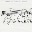 German Composer GISELHER KLEBE AMQS 1980s