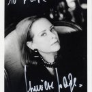 French Actress GENEVIEVE PAGE Hand Signed Photo 5x7 from 1980s