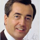 Austrian Politician ALOIS MOCK Hand Signed Photo 4x6 from 1987