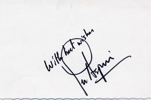 1993-94 Secretary of Defense w/ Clinton LES ASPIN Autographed Card 1970s