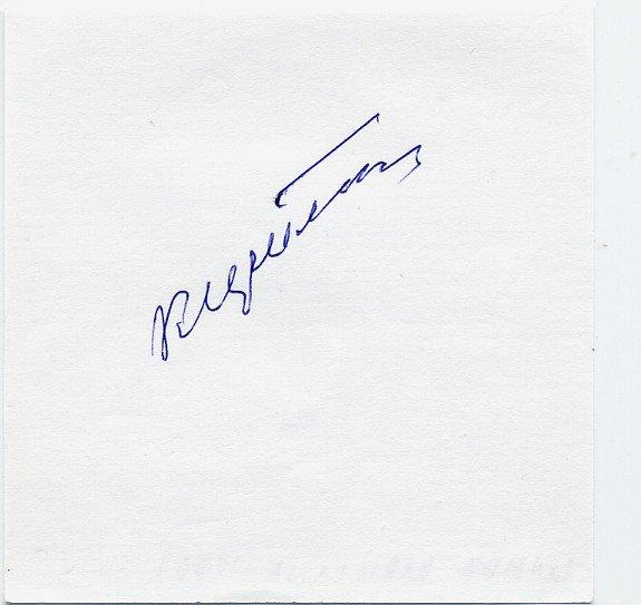 1950-60s Five-Time European Rowing Champion ZINAIDA KIRILLINA Autograph