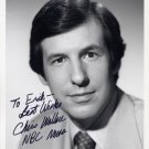 NBC News Meet The Press CHRIS WALLACE Hand Signed Photo 7x9 from 1987