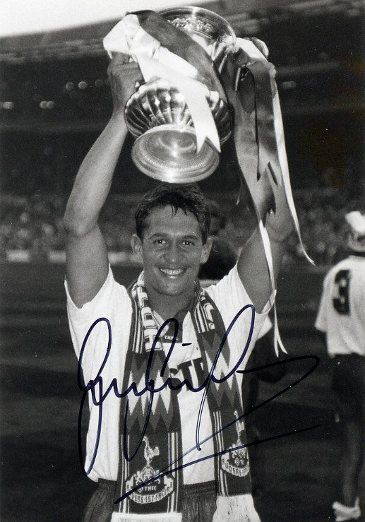 1986-90 FIFA World Cup GARY LINEKER Hand Signed Photo