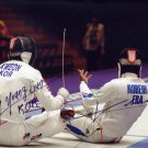 2008 Fencing Olympic Champion ULRICH ROBEIRI & YOUNG JUN KWEON SP 4x6
